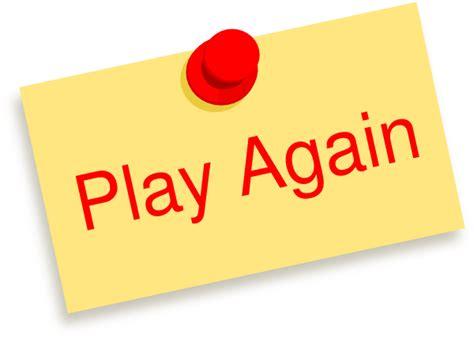 Play Again Note Clip Art At Clkercom  Vector Clip Art