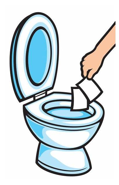 Toilet Paper Clipart Towels Throw Hand Bowl
