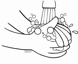 Hand Washing Coloring Pages | via Free Coloring Pages ift ...