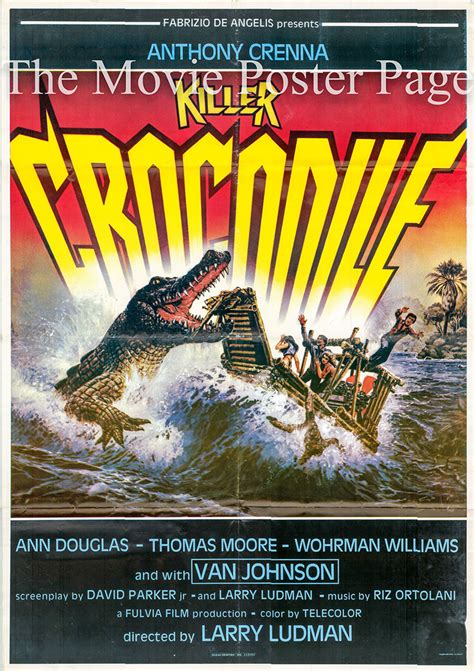 killer crocodile  richard anthony crenna italian