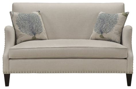 Contemporary Settee by Southern Furniture Living Room Darcy Settee Contemporary Sofas