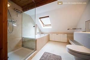 Badezimmer Mit Schräge : badezimmer mit schrge ~ Lizthompson.info Haus und Dekorationen