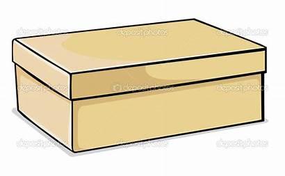 Shoe Clipart Clip Boxes Shoebox Moving Transparent