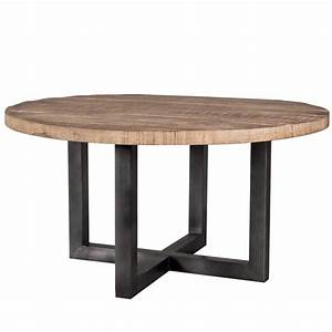Holztisch 80 X 80 : vintage esstisch rund 150 cm holztisch dinnertisch tisch esszimmertisch massiv new maison ~ Bigdaddyawards.com Haus und Dekorationen