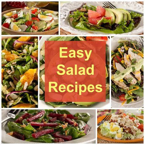 simple salad recipes easy salad recipes 14 of our greatest green salad recipes everydaydiabeticrecipes com