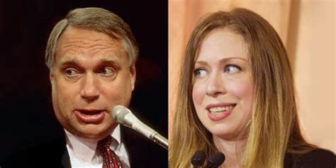 'no Comment' On Fathering Chelsea Clinton