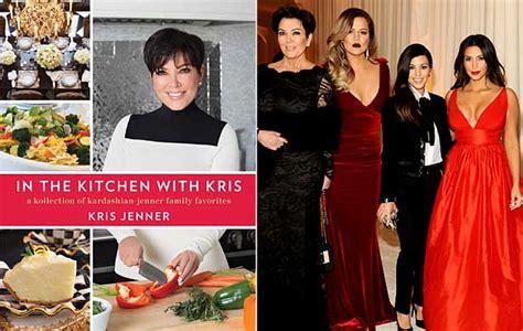 in the kitchen with kris kris jenner set to release own kookbook er cookbook