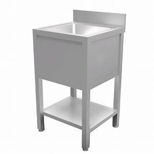 Lave Main 15 Cm Profondeur : lave mains sur pieds cuve carr e longueur 50 cm ~ Melissatoandfro.com Idées de Décoration
