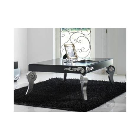 black and silver coffee table luxus black and silver leaf coffee table