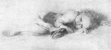 filepencil drawing  sleeping child vanderpoeljpg