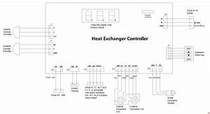 650w Industrial Electrical Enclosure Heat Exchanger