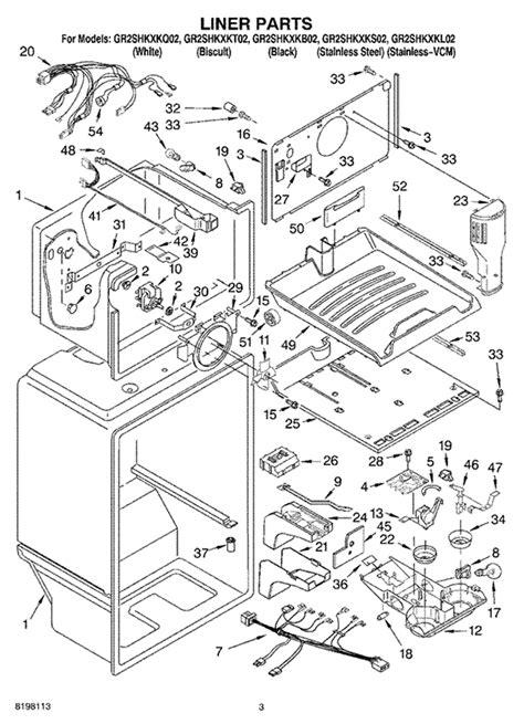 i have a whirlpool refrigerator model gr2shkxkq02