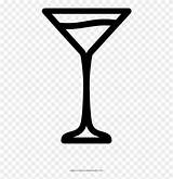Martini Coloring Clipart Cocktail Hour Icon Pinclipart sketch template