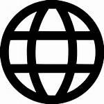 Icon Website Browser Web Internet Globe Svg