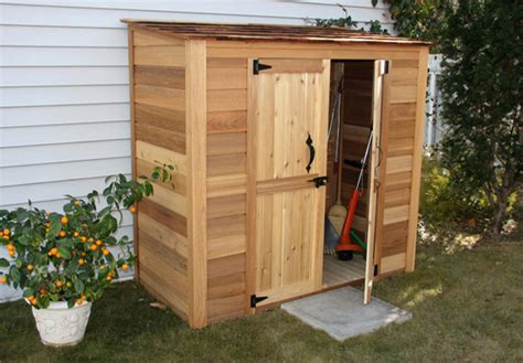 The Cedar Shed - outdoor wooden cedar storage sheds