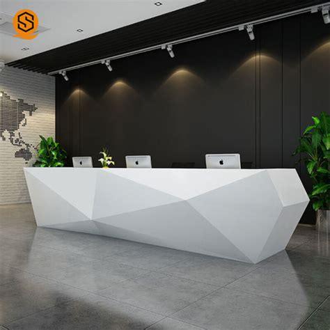 China Modern Design Reception Counter Front Desk Reception