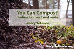 Garbage Disposal Chart Recycle Food With A Compost Pile