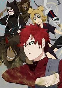 Gaara, Tamari, and Kankuro, brothers and sister. | Naruto ...