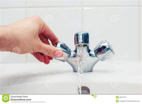 Free Faucet Wont Turn On by Turning Tap Royalty Free Stock Photography Image