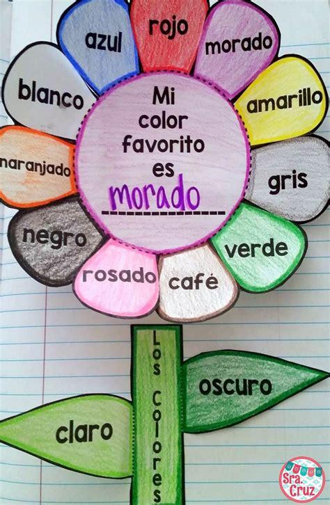 Spanish Interactive Notebook Activity: Los Colores 50% OFF ...