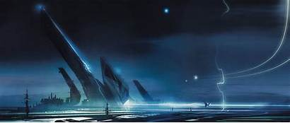 Ultra Wide Widescreen Wallpapers Sci Fi Landscape