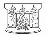 Chimney Coloring Coloringcrew sketch template