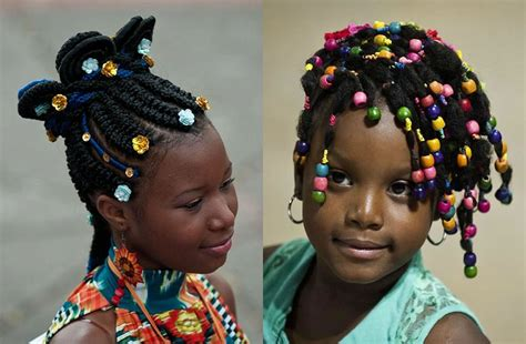Black Little Girl's Hairstyles For 2017- 2018