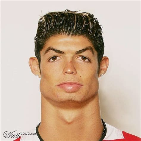 Cristiano Ronaldo Young Ugly   hairstylegalleries.com