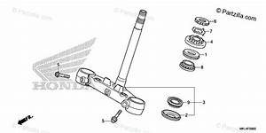 Honda Motorcycle 2019 Oem Parts Diagram For Steering Stem