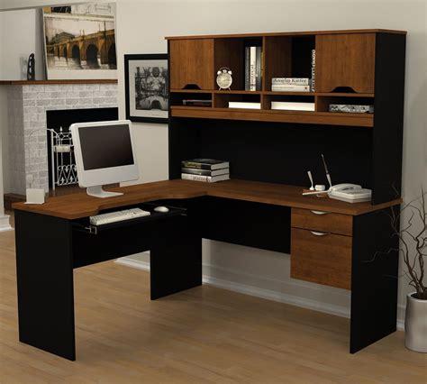 corner desk with storage l shaped computer desk w hutch corner office furniture