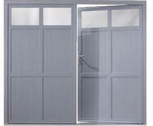 Portes de garage battantes portes de garage b39plast for Grande porte garage