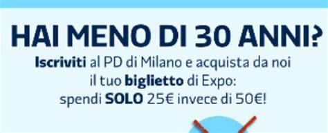 Prezzo Ingresso Expo Expo 2015 L Offerta Pd Quot Biglietto Con La