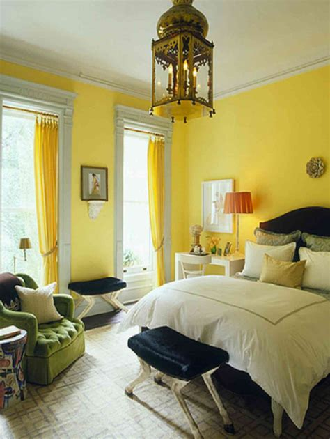 Yellow Bedroom Design Ideas by Cool Bedrooms With Yellow Touch Of Interior Details