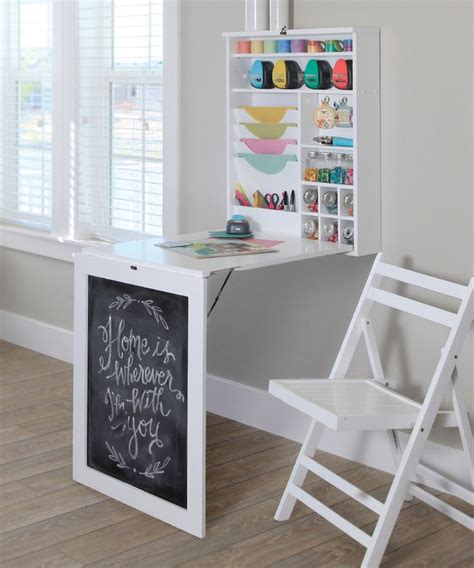 fold down craft table craftiness pinterest