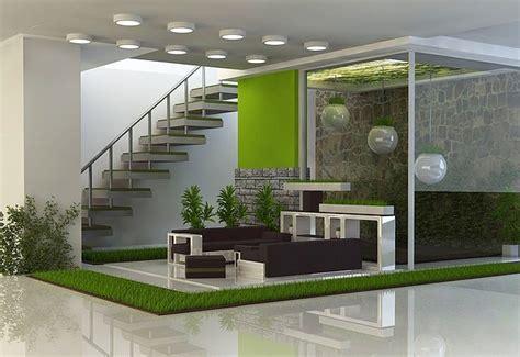 desain taman rumah minimalis modern desain gambar