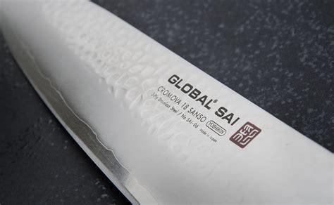 japonais cuisine couteau de cuisine japonais 25 cm global sai 06 global