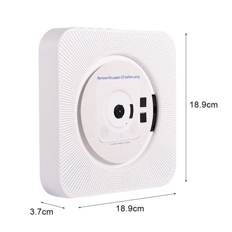 bluetooth cd player portable bluetooth wall mounted cd player stereo mp3 am fm