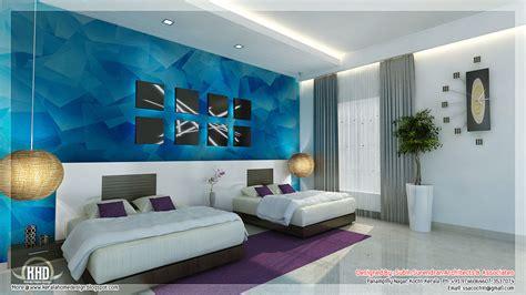 beautiful bedroom interior designs kerala house design - Home Interior Design Bedroom
