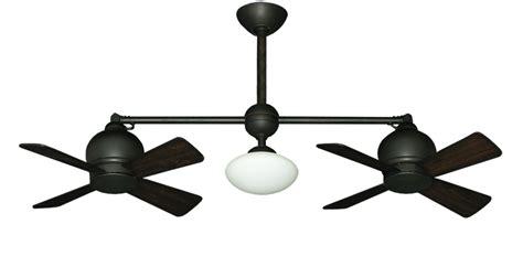Cheap Dual Motor Ceiling Fans by Ceiling Fan Design Metropolitan Rubbed Bronze Black