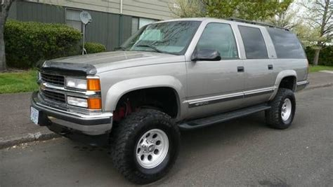small engine repair training 1995 gmc suburban 2500 electronic throttle control 1999 chevy suburban lt w 6 quot lift and engine upgrades price reduced www ifish net rebuild