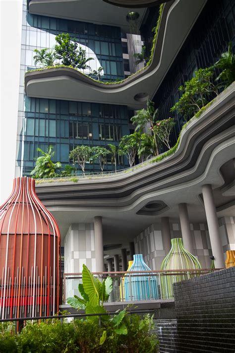 singapur reisen informationen tipps hotel tipp in singapur das parkroyal pickering architectural details