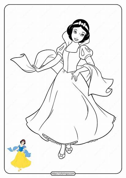 Coloring Disney Princess Printable Fabulous Drive2vote