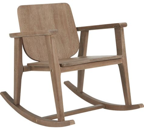 contemporary outdoor rocking chair outback rocking chair contemporary outdoor rocking chairs by cb2