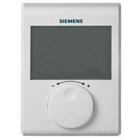 thermostat d ambiance digital non programmable siemens rdh100 123elec