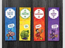 Phorest Studio » Superhero bookmarks