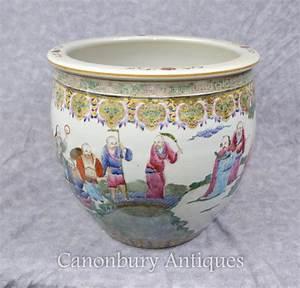 Chinesisches Geschirr Kaufen : chinesisches qianlong porzellan pflanzer sch ssel handgemalt ~ Michelbontemps.com Haus und Dekorationen