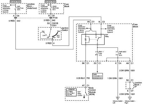 Wire Diagram 2001 Yukon by Repair Guides Windows 2001 Power Window Schematics