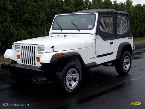 cool white jeep 1988 white jeep wrangler sport 4x4 37175254 photo 13
