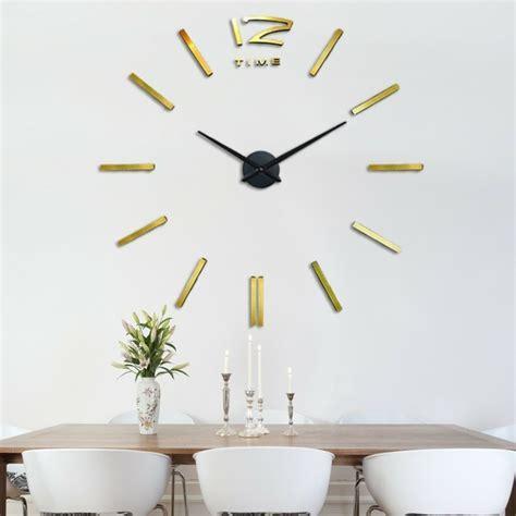 cuisine style shabby 45 idées pour le plus cool horloge géante murale
