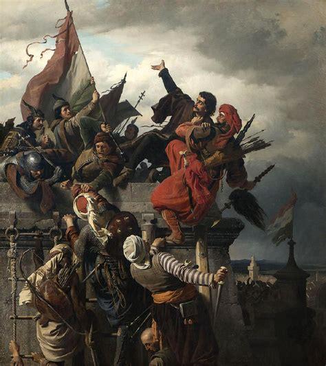 pouf siege ottoman hungarian wars